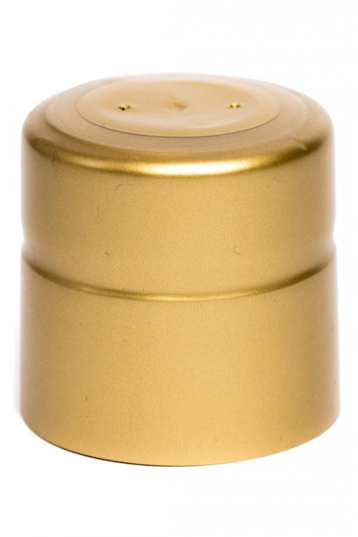 Kapsle 34x34 - zlatá