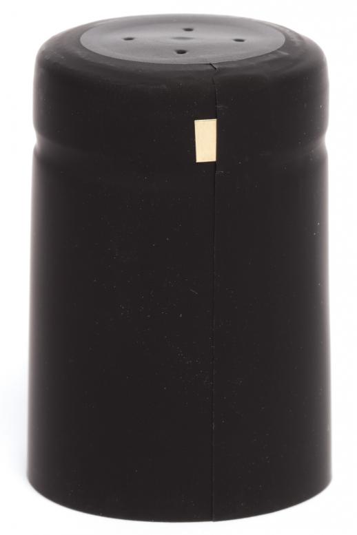 Kapsle 32x50 - černá matná...