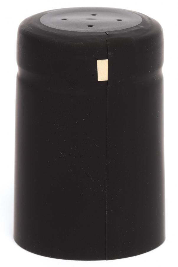 Kapsle 32x50 - černá matná s odtrhem