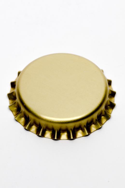 Korunka 26 mm - zlatá