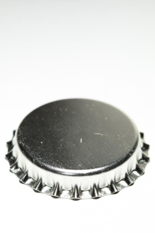 Korunka sekt 29 mm - stříbrná