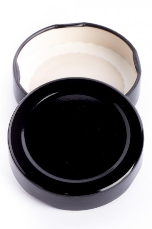 Víčko TO 58 deep - černá