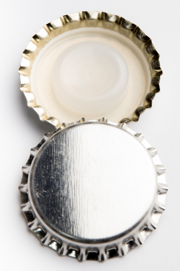 Korunka sekt Bidule 29 mm - stříbrná