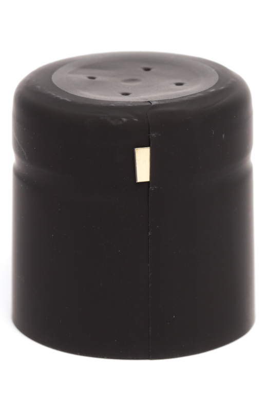 Kapsle 32x37 - černá matná...