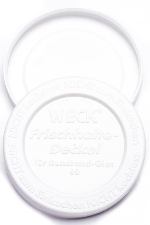Weck - těsnící víčko RR 60...