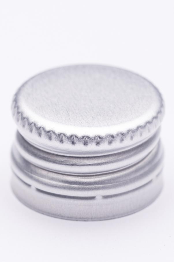 Alkork PP 18x12 - stříbrná se závitem