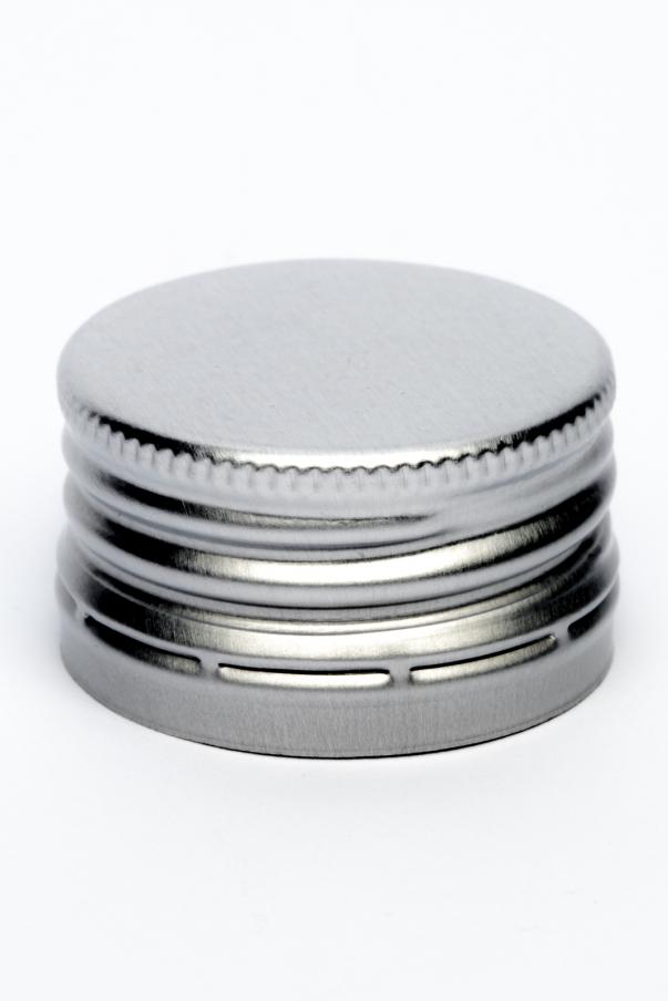 Alkork PP 31,5x18 Standard - stříbrná se závitem