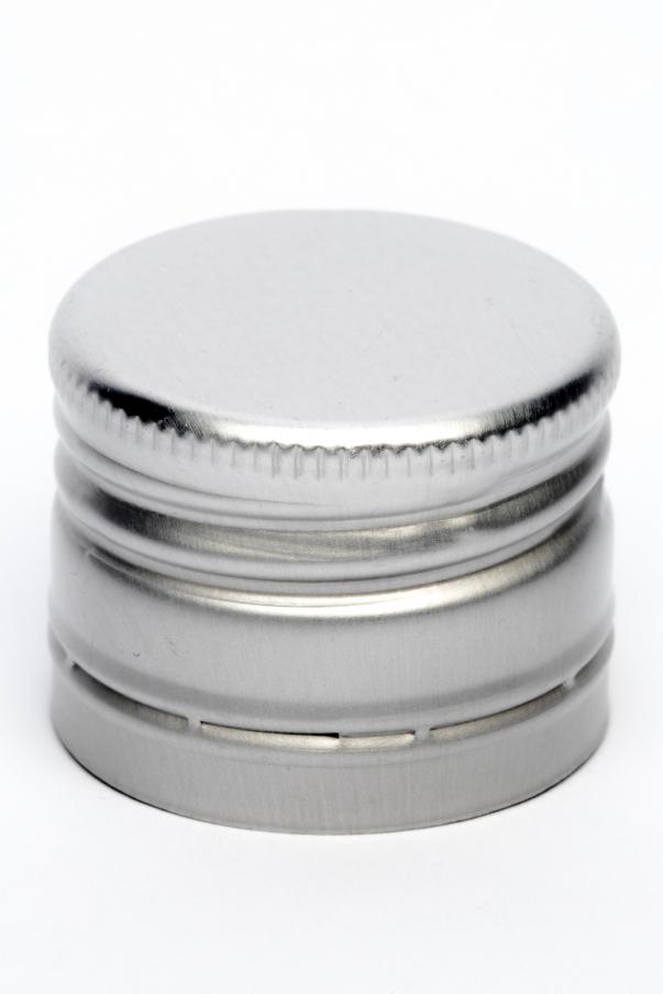Alkork PP 31,5x24 Deep - stříbrná se závitem