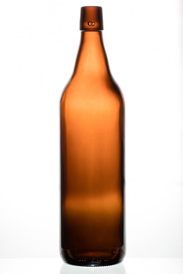Bier 1,0 l - hnědá