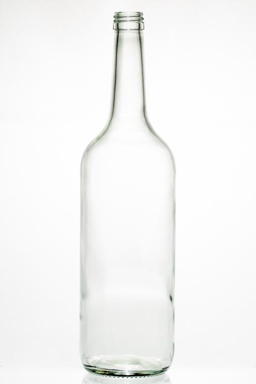 Geradehalsflasche W 1,0 l