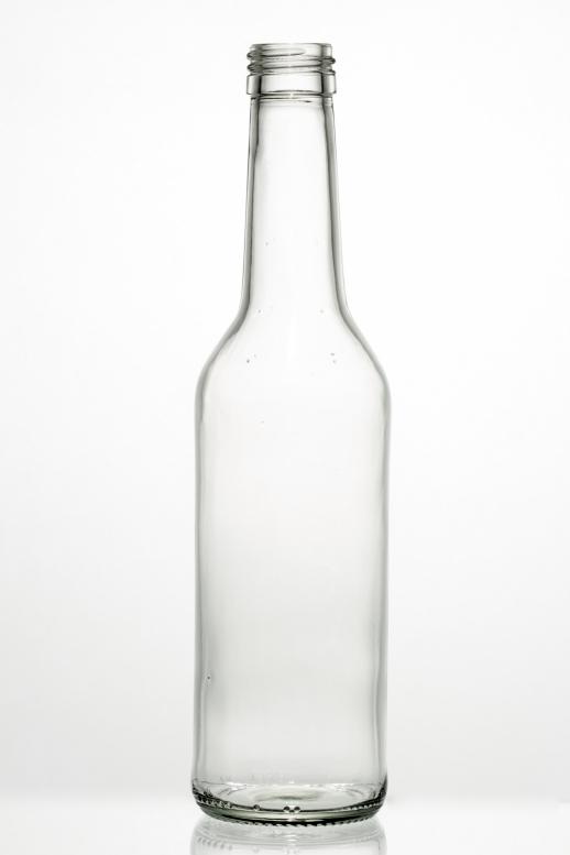 Geradehalsflasche W 0,35 l