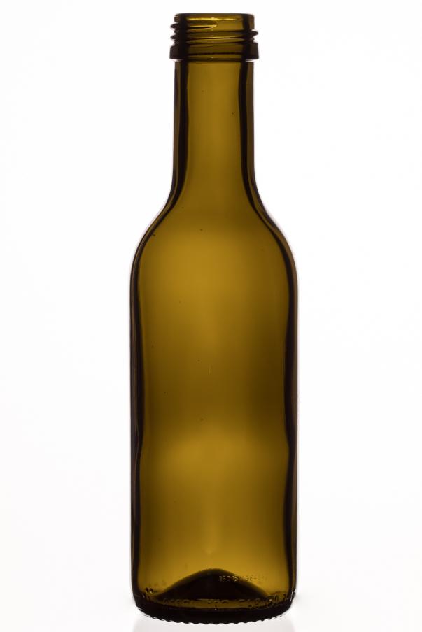 Bordeauxflasche 0,187 l - antyk