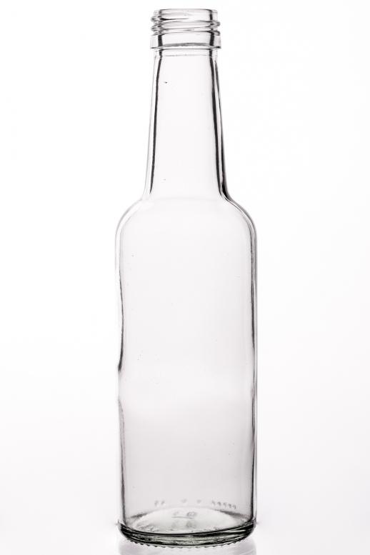Geradehalsflasche 0,25 l