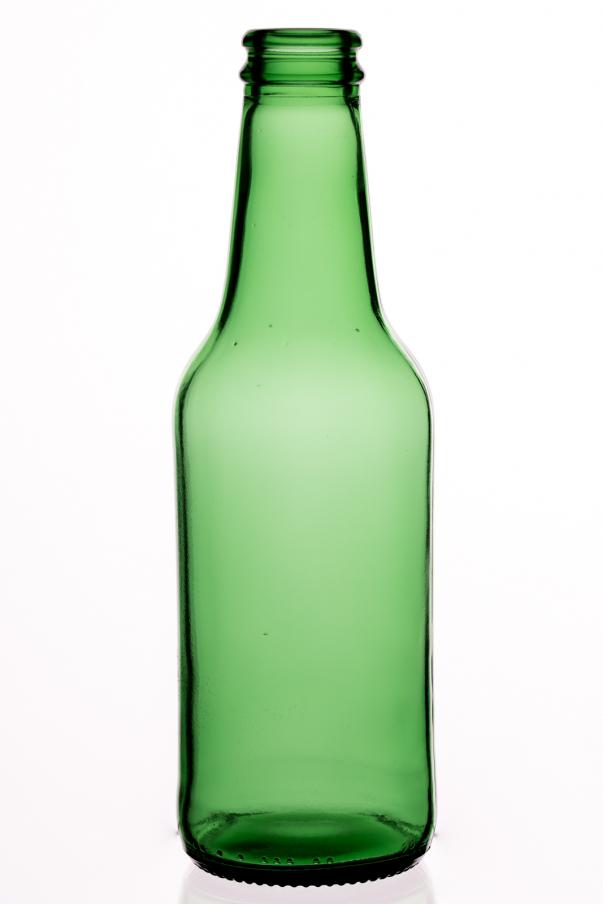 Longneck 0,25 l - zelená