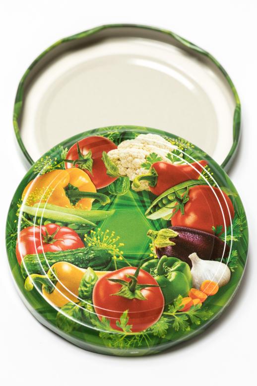 Víčko TO 82 - zelenina