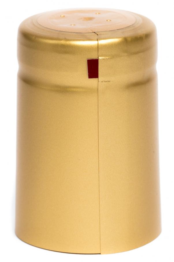 Kapsle 32x50 - zlatá s odtrhem