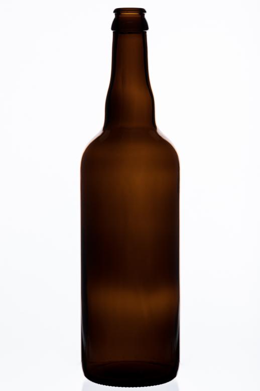 Bier Belgien 0,75 l - hnědá