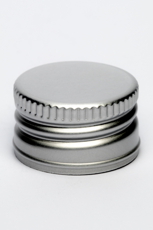 Uzávěr plech PP 28 - stříbrná