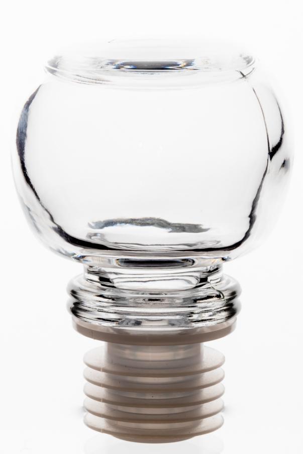 Uzávěr skleněný Tondo - plast