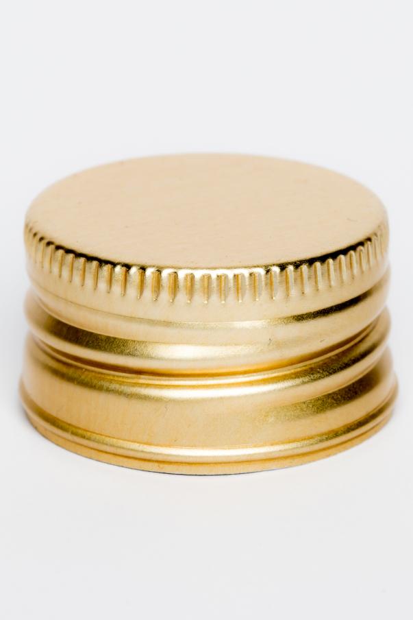 Uzávěr plech PP 31,5 - zlatá