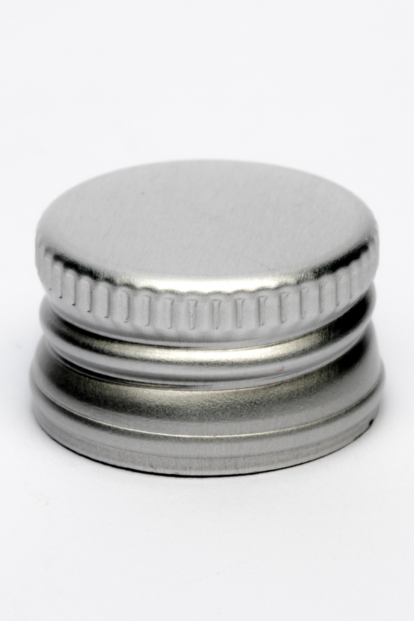 Uzávěr plech PP 18 - stříbrná